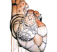 Steampunk Heart by ashraae