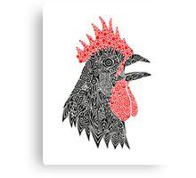 Cock-A-Doodle Canvas Print