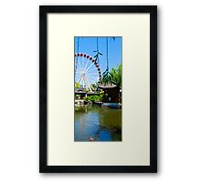 Chinese Garden of Friendship #2 Framed Print