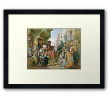 A Street in Cairo Framed Print