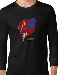 Dalek Souffle Girl 2 Long Sleeve T-Shirt