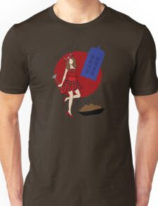 Dalek Souffle Girl 2 Unisex T-Shirt