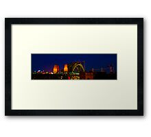 Sydney New Year #1 Framed Print