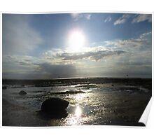 Hunstanton Beach Norfolk Poster