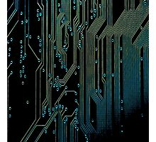 Cyber Circuits Photographic Print