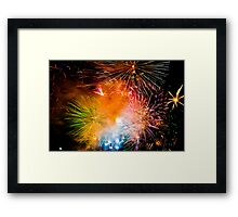 Sydney New Year #3 Framed Print