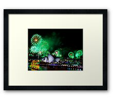 Sydney New Year #7 Framed Print