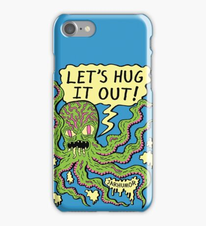 Lets Hug It Out iPhone Case/Skin