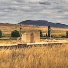 Chakola Railway Station Rural NSW by Kym Bradley