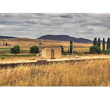 Chakola Railway Station Rural NSW Photographic Print