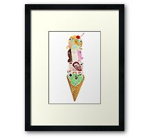 Colossal Cone Framed Print
