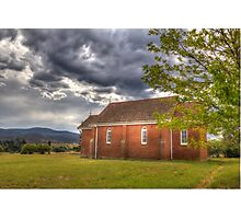 St Bartholomew's Bredbo  Rural NSW Photographic Print