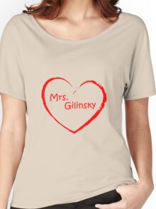 love Mrs. Gilinsky Red Women's Relaxed Fit T-Shirt