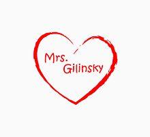 love Mrs. Gilinsky Red Men's Baseball ¾ T-Shirt