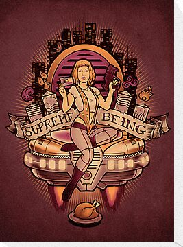 Supreme Being - Print by MeganLara