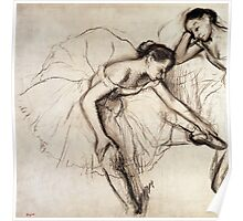 Two Dancers Resting  Poster