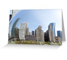 The bean bends skyline Greeting Card