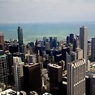 city view of Chicago by thvisions