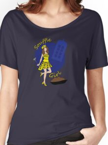 Dalek Souffle Girl Yellow Women's Relaxed Fit T-Shirt