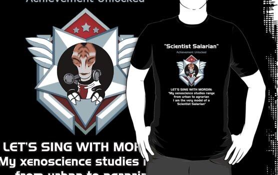 ME2 - Scientist Salarian by Rhaenys