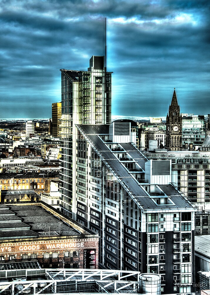 Manchester Buildings HDR by Nick Field