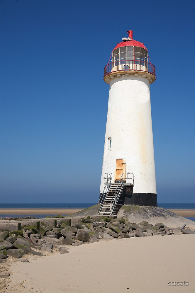 Talacre lighthouse north Wales by ccrcats