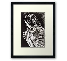 Dragon Lady Framed Print