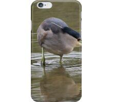 Black Crowned Night Heron iPhone Case/Skin