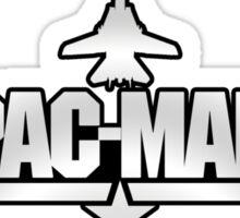 Custom Top Gun Style - Pac-Man Sticker