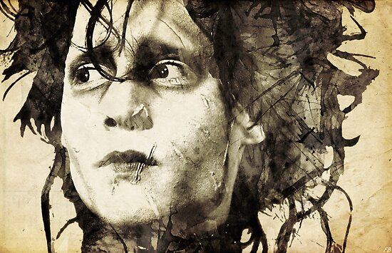 Edward Scissorhands by filippobassano
