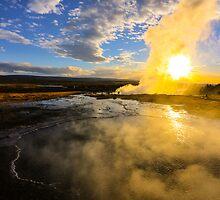 Geysir, Iceland by Pippa Carvell