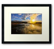 Geysir, Iceland Framed Print