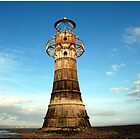 Whiteford Lighthouse by Lucy Adams
