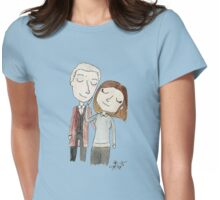 Doctor Who - Twelfth Doctor and Clara Oswald Womens Fitted T-Shirt