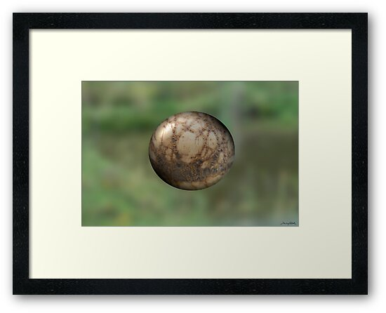 Sphere #9725 by TIMOTHY  POLICH