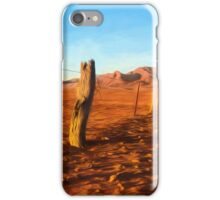 Outback Fence (GO2) iPhone Case/Skin