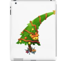 The Christmas Tree wishes You Merry Christmas iPad Case/Skin