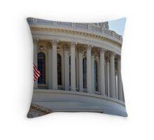 US Capitol Throw Pillow
