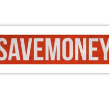 save money Sticker