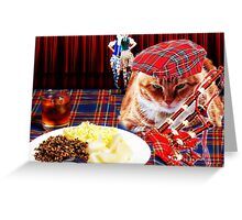 Burns Night Greeting Card