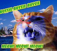 Aussie Aussie Aussie, Meow, Meow, Meow! by Kristie Theobald