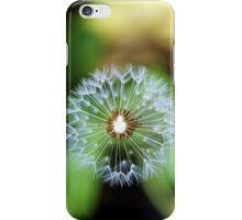 Lion's Seed Head iPhone Case/Skin