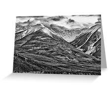 Banff, Alberta Rest Stop Greeting Card