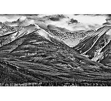 Banff, Alberta Rest Stop Photographic Print