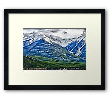 Banff, Alberta Colors Framed Print