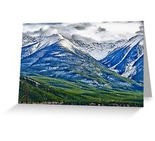 Banff, Alberta Colors Greeting Card