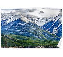 Banff, Alberta Colors Poster
