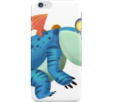 The Sloth Dragon Monster iPhone Case/Skin