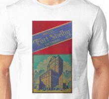 Vintage Detroit Fort Shelby Hotel #1 Unisex T-Shirt