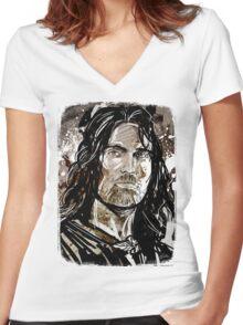 Aragorn Women's Fitted V-Neck T-Shirt